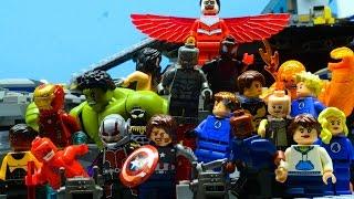 Lego Avengers and Fantastic 4 - FALLEN (PART 1/2)