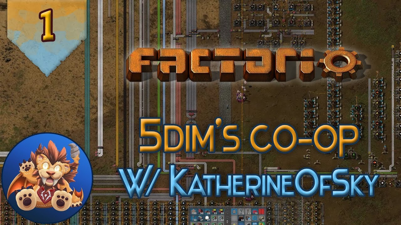 Steam Community :: Video :: Factorio 5Dim's Coop - Ep 1: Stop eating