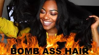 THICKEST 3 BUNDLES EVER!! Perfect for FALL| Chinahairmall.com