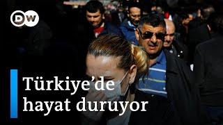 Corona virüs: Türkiye'de virüs tedbirleri artıyor, esnaf panikte - DW Türkçe