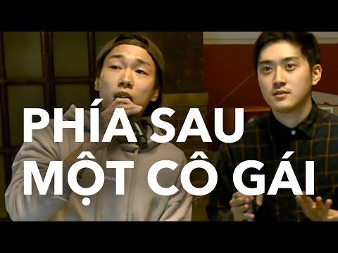 Hàn Quốc Oppa hát Phía Sau Một Cô Gái bằng tiếng Hàn | KTV V LIVE