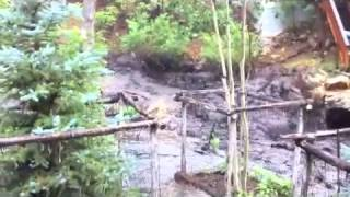 Flash Flood Ruidoso July 24, 2013