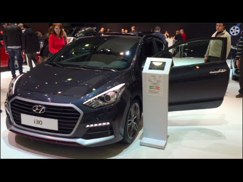 Hyundai i30 2016 In detail review walkaround Interior Exterior