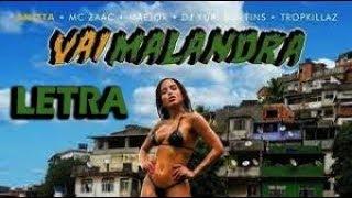 Baixar Anitta, Mc Zaac, Maejor ft. Tropkillaz & DJ Yuri Martins - Vai Malandra [LETRA]