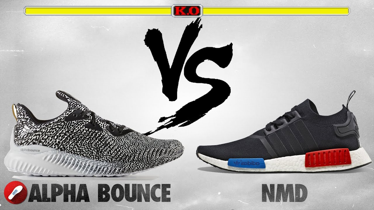 Adidas AlphaBounce vs Adidas NMD! What s More Comfy  - YouTube 7fa538233