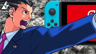 Nintendo Makes A Billion, Ace Attorney Switch Storm, Rocket League Physical!