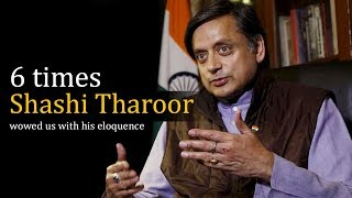 6 Times Shashi Tharoor Wowed Us With His Eloquence thumbnail