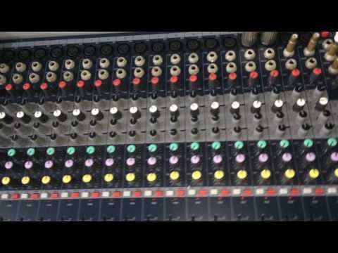 Hướng dẫn sơ bộ cách chỉnh echo - decay bàn mixer soundcraft EFX 20
