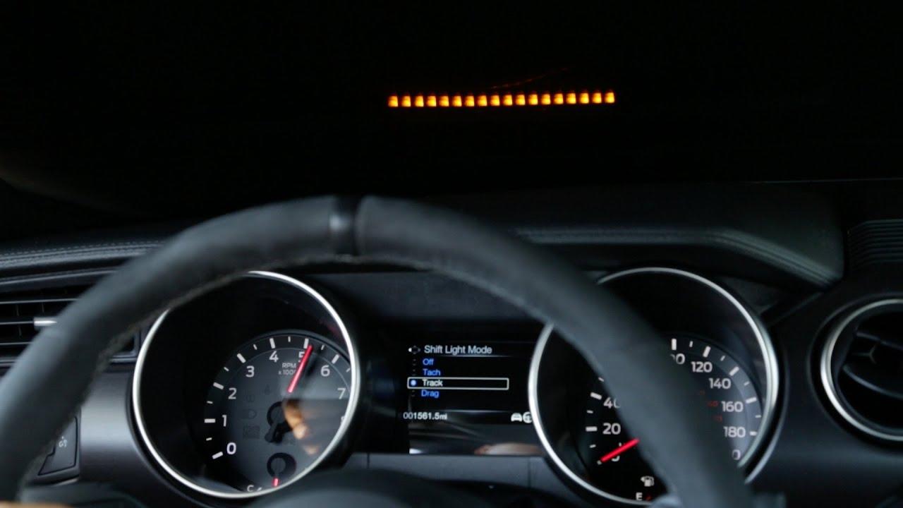 El Mustang Shelby 2016 Estrena Head Up Display Imagenes Oficiales Youtube