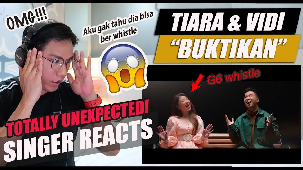 Download Tiara Andini, Vidi Aldiano - Buktikan (Official Music Video) | SINGER REACTION