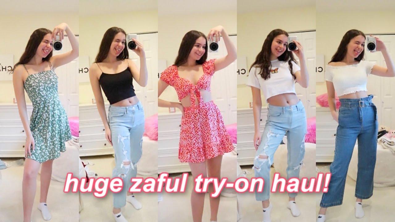 huge zaful try-on clothing haul!
