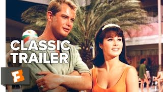 palm springs weekend (1963) official trailer - troy donahue, connie stevens movie hd