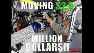 Moving $2.5 MILLION DOLLARS In 5 HOURS! | GTA GARAGE?
