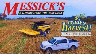 New Holland CR8.90 Demo (Harvesting Corn)
