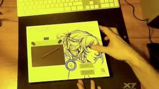 планшет Wacom Intuos Draw Pen S (CTL-490DB-N) обзор