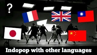 Indo-pop songs with other languages ver. | Japan, Chinese, ect