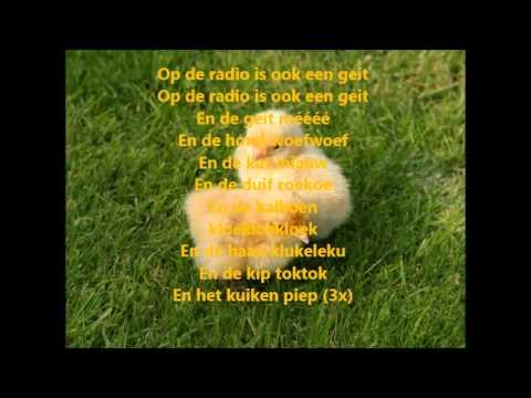 Pulcino Pio - Het kuiken piep (Lyrics)