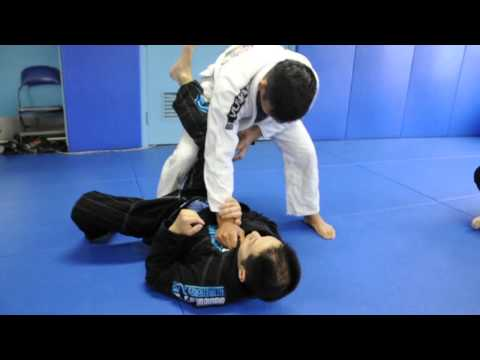 DRILL: Open Guard Passing - Leg Drag & Knee Slide Pass