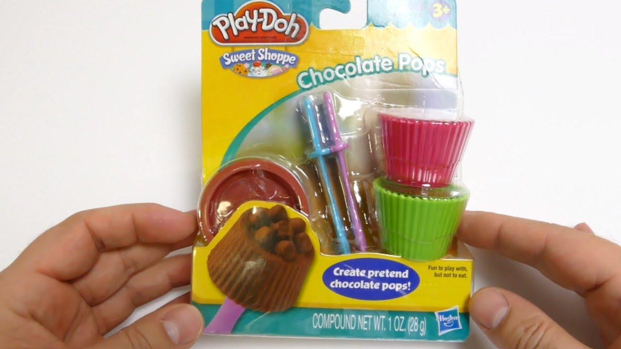 Play-Doh Chocolate Pops Sweet Shoppe - PlayDough Maker