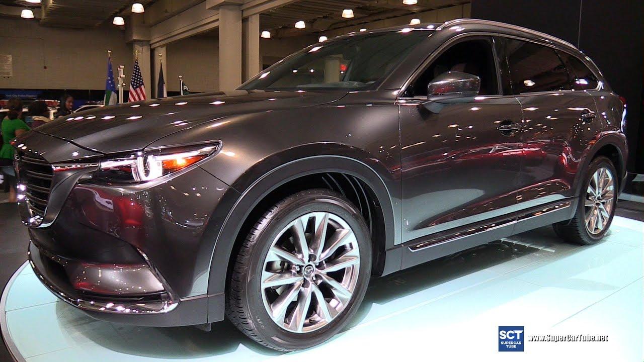 2017 Mazda CX-9 SkyActiv - Exterior and Interior Walkaround - 2016 ...