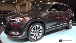 2017 Mazda CX-9 SkyActiv - Exterior And Interior Walkaround - 2016 New York Auto Show