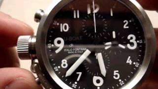 U-Boat Flightdeck Chronograph 50mm Automatic Watch Review