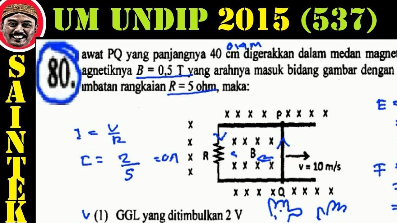 UM UNDIP 2015 Kode537, Fisika, Pembahasan No 80, Gaya