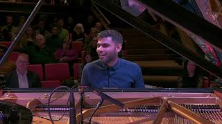 Peter Willems tijdens finale Prinses Christina Jazz Concours