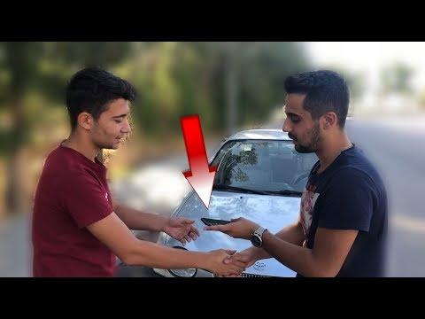 İphone x ile Bozuk Arabayı Takas Etti!! (Araba Hararet Yaptı)