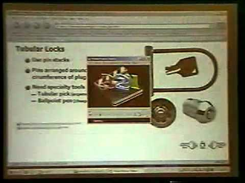 DEFCON 13: Introduction to Lockpicking and Physical Security