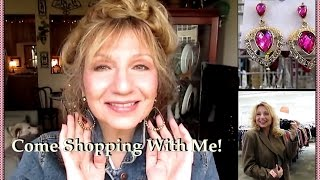 Come Shopping With Me! - Goodwill Thrift Haul & Try-On with Extra Snark :)!