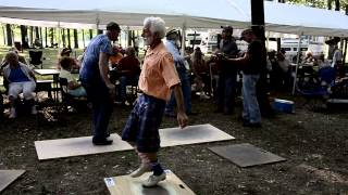 Buck Dancing at Summertown Bluegrass Festival