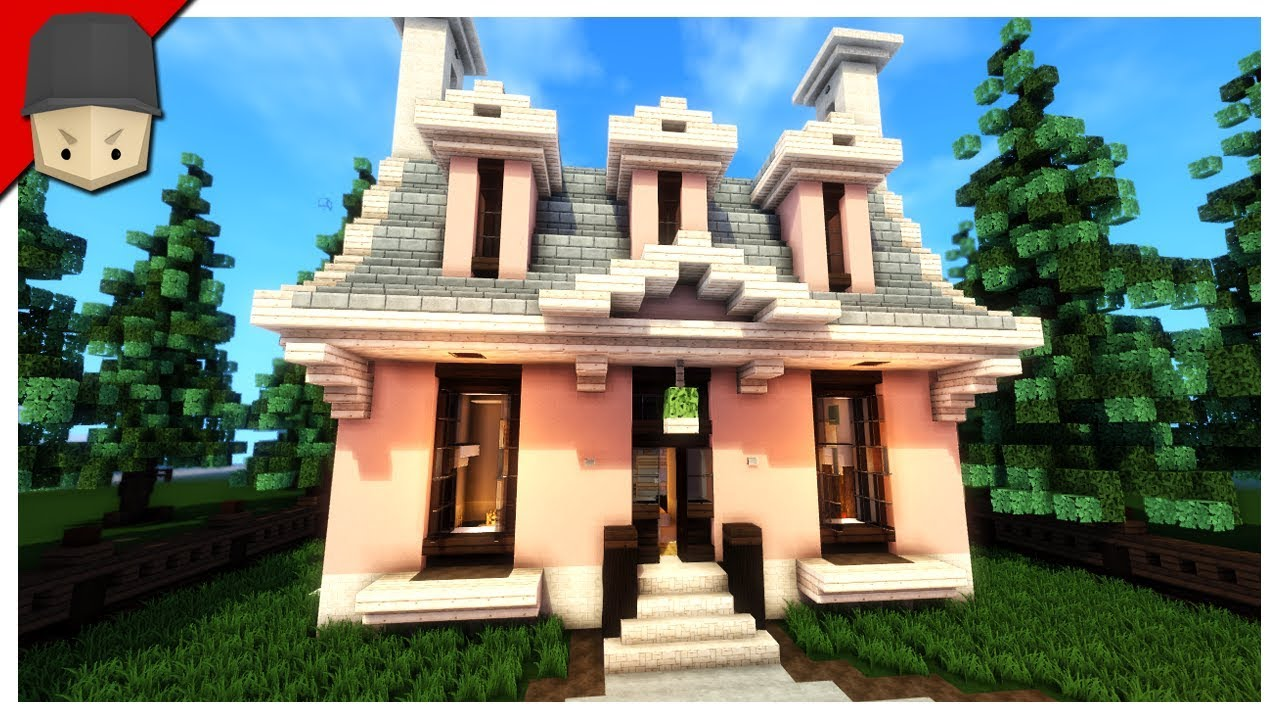 Minecraft beautiful small house youtube for Beautiful small house pics