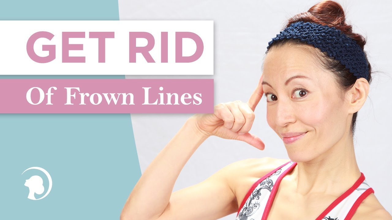 3 Simple Tricks To Get Rid Of Frown Lines Httpfaceyogamethod
