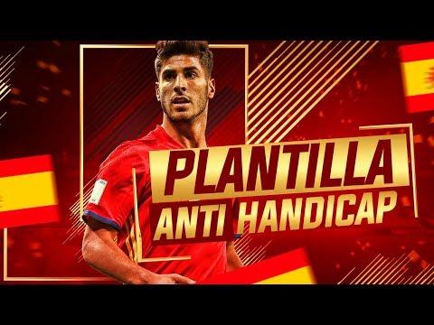 PLANTILLA ESPAÑA JOVEN POR 70K !!! LE DA HANDICAP AL RIVAL :v