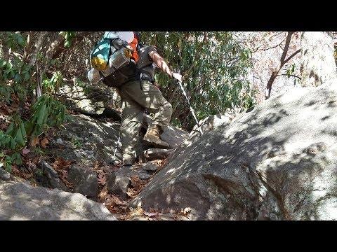 Arnie1mileAndG 2018 AT Thru Hike Prep: #10 descending Blood Mountain; fire statistics