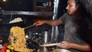 Chicken Noodles Preparation for 8 people | Indian Street Food | Fast food in Vijayawada