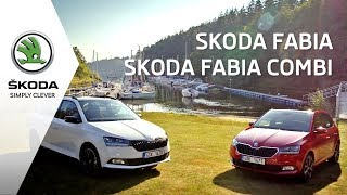 Skoda Fabia и Skoda Fabia Combi универсал 2018.  Новая Шкода в Украине