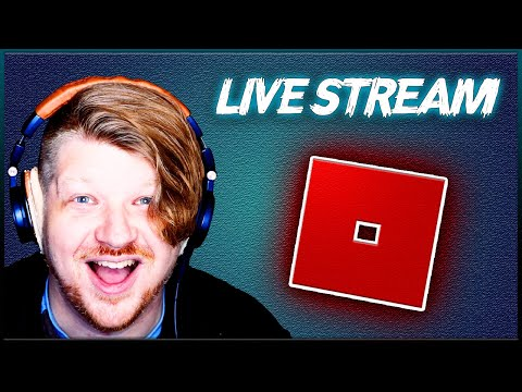 ROBLOX Live Stream!! - Let's Play Some Games!