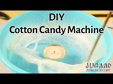 How To Make A Cotton Candy Machine