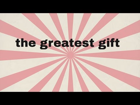 The greatest gift film