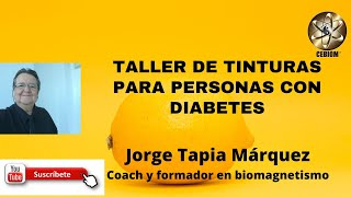 TALLER DE TINTURAS PARA PERSONAS CON DIABETES