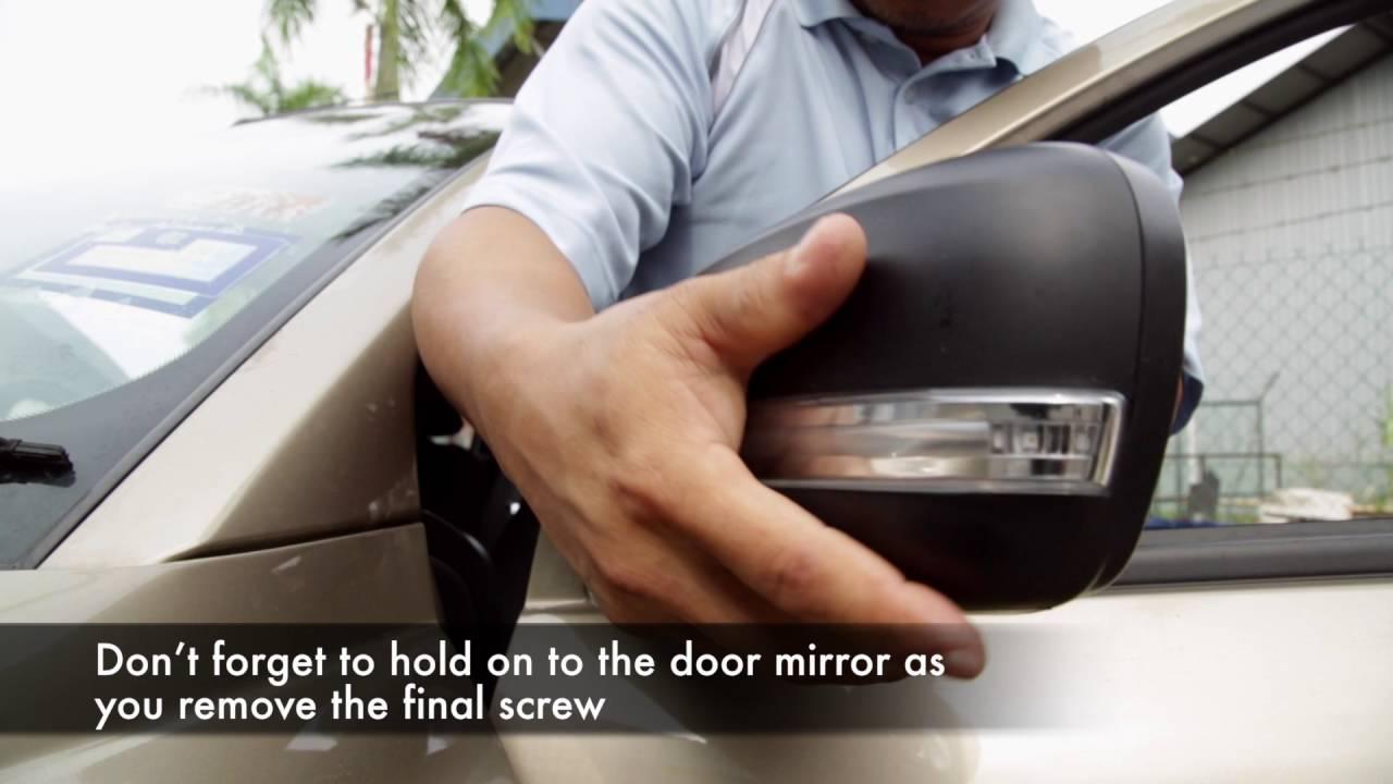 Proton Saga Fl Door Mirror Installation Steps Youtube Wiring Fog Lamp Exora