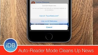 How To: Enable Auto Reader Mode in Safari on iOS 11 & macOS High Sierra