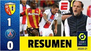 PSG 0-1 Lens. Debut en Ligue1 con derrota. No jugaron Neymar, Mbappé, Di María ni Navas. ¡SORPRESA!
