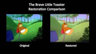 The Brave Little Toaster - City of Light (Restoration Comparison)