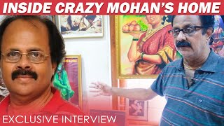 Kamal Cried Badly for Crazy Mohan : Crazy Balaji | Inside Crazy Mohan Home Exclusive