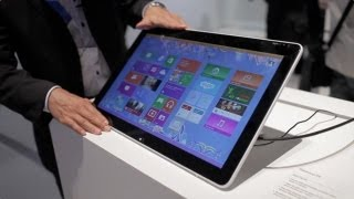 Sony VAIO Tap 20 hands-on from IFA, Tabletop Windows 8