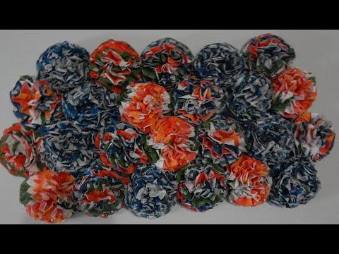 DIY NAPKIN/ TISSUE paper FLOWERS