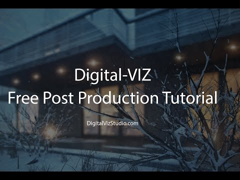 Advanced Post Production Techniques :  Winter Exterior Scene